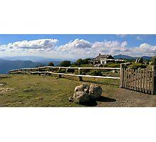 Craigs hut   Panoramic View Photographic Print
