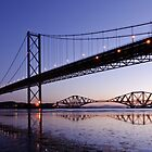 Forth Bridges by David Queenan