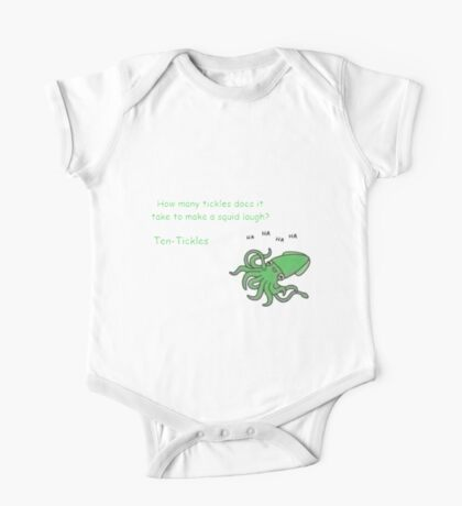 Funny Squid One Piece - Short Sleeve