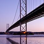 Forth Road Bridge by David Queenan