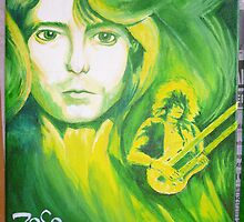 Jimmy Page (Led Zepp part 4 of 4) by Brett Leurink