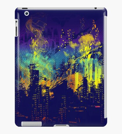 grid city iPad Case/Skin