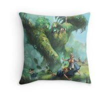 The Eater of Maids Throw Pillow