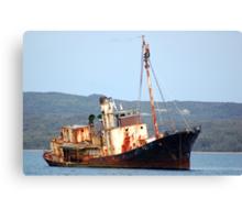 Cheynes 11 - Rusting Whaling Ship Canvas Print