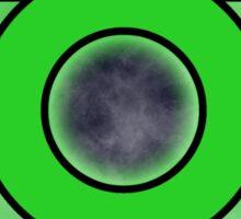 Green Ring Sticker