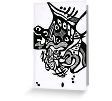 Doodle 10 Greeting Card