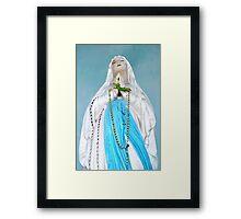Poule Bleus, Mahe, Seychelles Framed Print