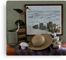Seaside Vignette  Canvas Print