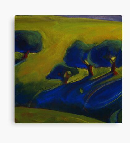 Blue Shadow 1 Canvas Print