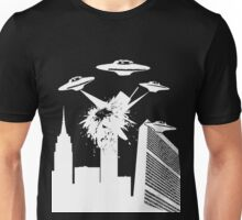 Retro UFO Destruction Shirt Unisex T-Shirt