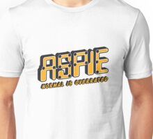 Aspie - Normal is Overrated Unisex T-Shirt