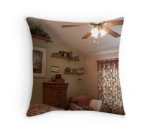 Cozy Reading Chair Throw Pillow