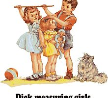 Dick Measuring Girls by tommytidalwave