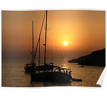 Sundown, Ibiza Poster