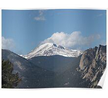 Rocky Mountains near Estes Park, Colorado Poster