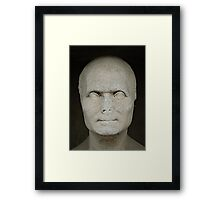 Bust of Joseph Fourier, Pere Lachaise Cemetery, Paris Framed Print