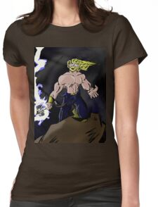Fury of the Storm Womens Fitted T-Shirt