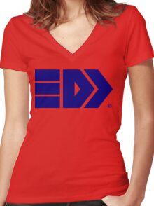 Takoroka Splatoon Inkling Brand Women's Fitted V-Neck T-Shirt