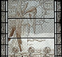 Pere Lachaise stained glass by triciamary