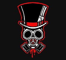 Mad Hatter Gas Mask Unisex T-Shirt