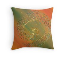 Harvest of the cycle Throw Pillow