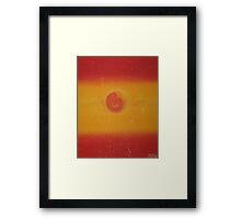 Aura Sunset Framed Print
