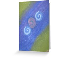 Change between worlds Greeting Card