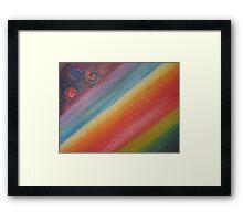 Koru Borealis Framed Print