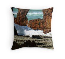 Fraser Island Maheno Wreck   Throw Pillow