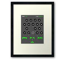 Retro Gamig Framed Print