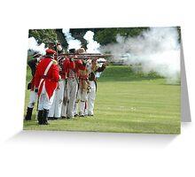 US vs Canada 1812 War Greeting Card