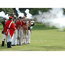 US vs Canada 1812 War Photographic Print