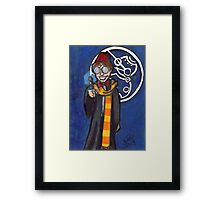 Doctor Harry Who Framed Print