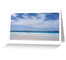 Western Australia Series- Curious Clouds Greeting Card