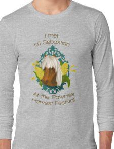 I met Li'l Sebastian at the Pawnee Harvest Festival Long Sleeve T-Shirt
