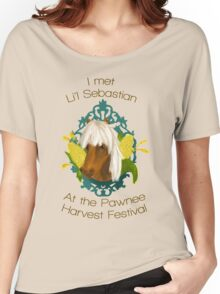 I met Li'l Sebastian at the Pawnee Harvest Festival Women's Relaxed Fit T-Shirt