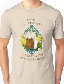 I met Li'l Sebastian at the Pawnee Harvest Festival Unisex T-Shirt