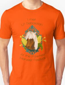 I met Li'l Sebastian at the Pawnee Harvest Festival Unisex T-Shirt