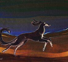 In the desert by Jezhawk