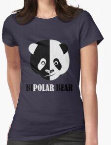 BiPolar Bear Womens Fitted T-Shirt