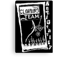 AntiGravity Climbing Team 2 Canvas Print