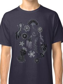 Sea Ballet in Black and White with Apologies to Ernst Haeckel Classic T-Shirt