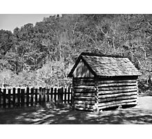 Rustic Shed Photographic Print