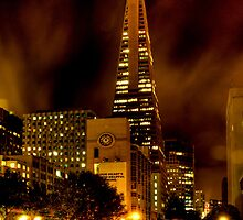 Fog over the Transamerica Pyramid by anatol734