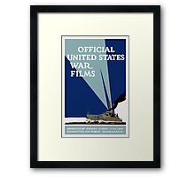 Official United States War Films -- WWI Print Framed Print