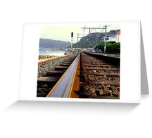 Towards Kalk Bay - Cape Town, South Africa Greeting Card