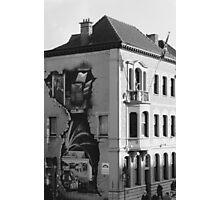 Mural in Gent, Belgium Photographic Print