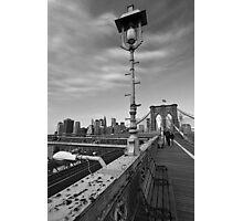 Brooklyn Bridge, NY Photographic Print