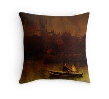 Central Park, New York Fall Throw Pillow