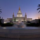 The Oakland Temple at Twilight by MattGranz